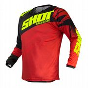 Shot Devo Ventury MX Jersey Red/Neon Yellow
